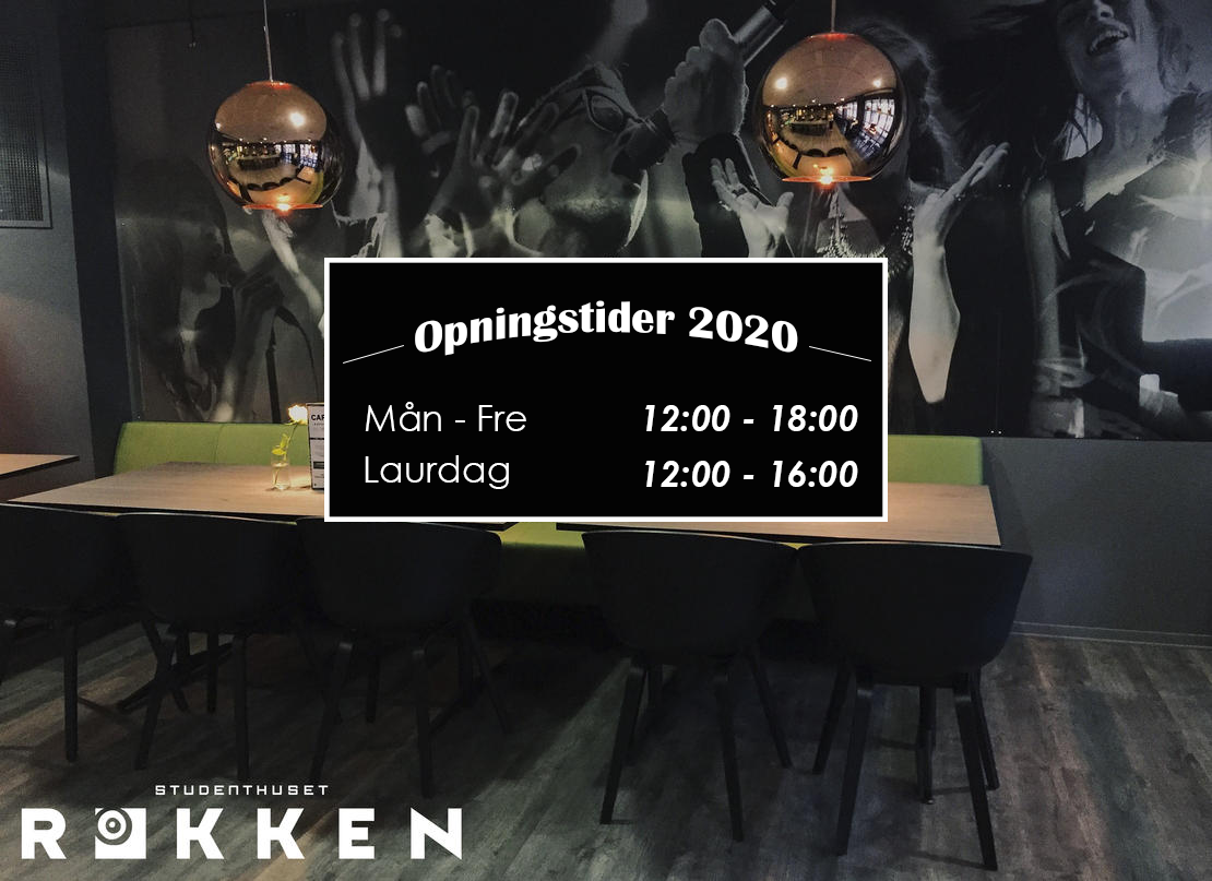 Rokken Cafe opningstider 2020