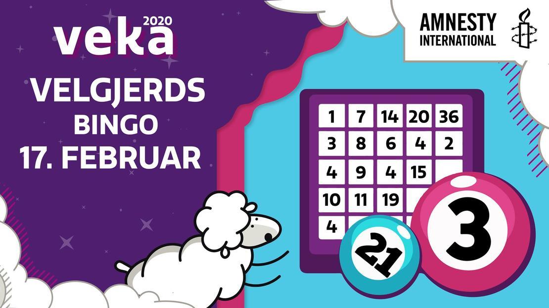 Charity Bingo // VEKA '20